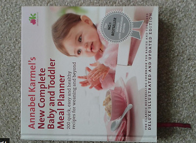 Annabel Karmel's baby and toddler meal planner (hard cover)