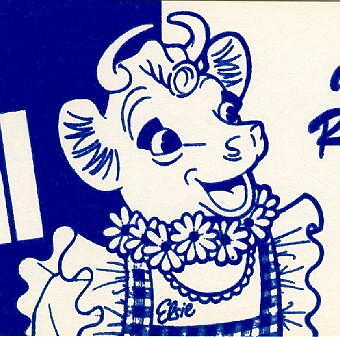 9 Different Elsie the Cow Signs ~ Milk & Dairy Parlor