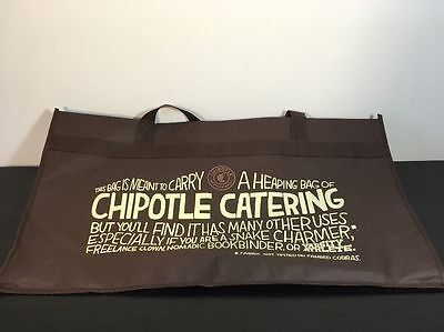 NEW Large Chipotle Catering Bag
