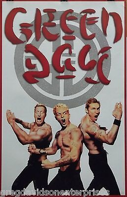 Green Day 22x34 Kung Fu Music Poster 2002