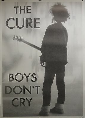 The Cure 24x34 Boys Don't Cry Black & White Music Poster Robert Smith