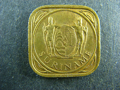 5 cents 1962 Suriname KM#12.1 Nickel-Brass coin 5c Surinam