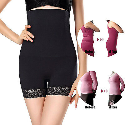 Women High Waist Tummy Control Body Shaper Seamless Thigh Slimming Boyshort 5855