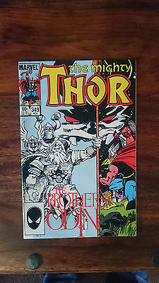 Marvel comics The Mighty Thor #349 1984 NM 1st print cents copy