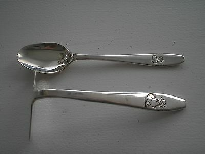 Snoopy Silver Plated Spoon Set - 1955-66