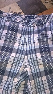 Karen Scott Womens' Blue / White / Gray Shorts, New / No Tags, Size 12