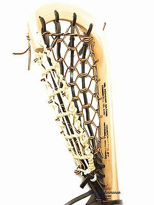 Mohawk Lacrosse Traditional Wooden Box Lacrosse Stick! MIL Wood Lax Indoor Arena