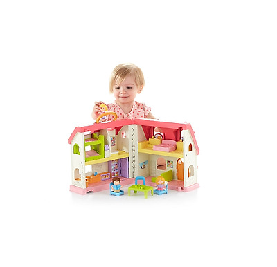 NEW Fisher-Price Little People Surprise Sounds Home Boy Girl Fun House Play set