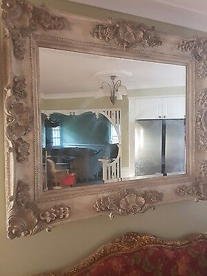 french provincial reproduction large wall mirror