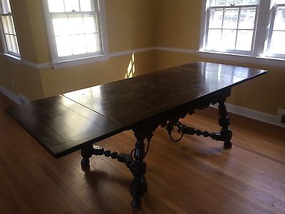 Hastings Italian Walnut Dining Room Set - 19th Century