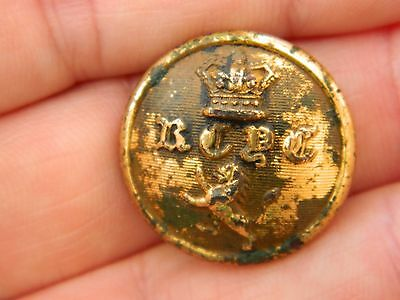 vintage button early navy naval metal detector detecting