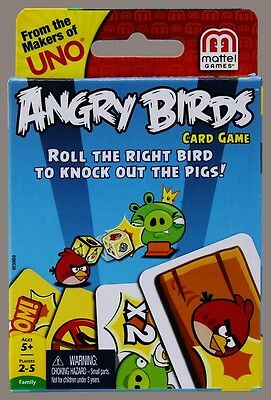 Angry Birds Card Game from Mattel