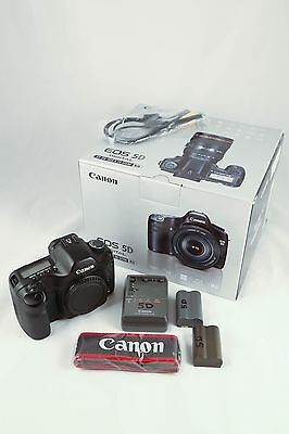 Canon EOS 5D 12.8MP Full Frame Camera w/ Extra battery and Cards. Very good.