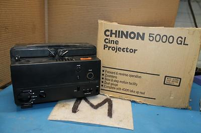 Chinon Motion Picture Movie Projector Cine Projector 5000Gl Works Great