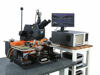 PRCBE S Series Probe Station Wafer Prober Semiconductor Lab Equipment