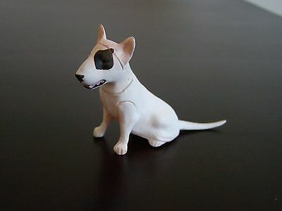 New JAPAN Kaiyodo Furuta Choco Egg Pet Animal Miniature White Bull Terrier Dog