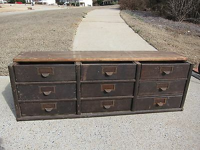 "Rare Globe Wernicke 41"" Stacking File Section"