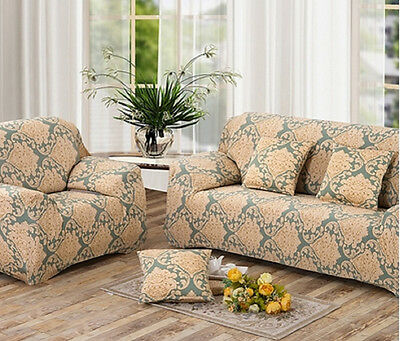 Stretch Sofa Cover Refurbish Couch Skin New Love Seat Slipcover 1234