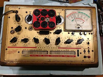 HICKOK Model 6000A Dynamic mutual conductance Tube-Tester