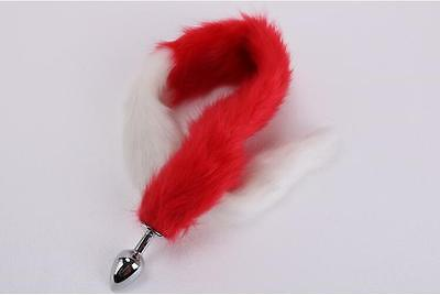 Long Love Faux Fur Tail Butt Anal Plug Sexy Romance Sex Funny Adult Sex Game Toy