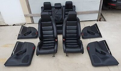 Mercedes W211 E55 Interior Package - Front/Rear Seats, Headrests, Door Cards