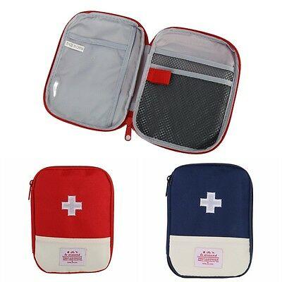 Travel Emergency First Aid Kit Carry Bag Pouch Medical Outdoor Camping Mini Bag