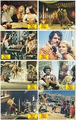 SINBAD AND THE EYE OF THE TIGER Lobby Cards (1977) Complete Set of 8
