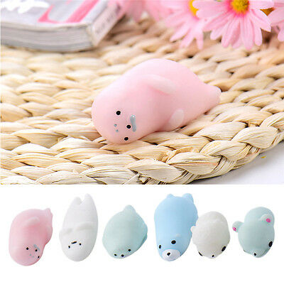 Cute Soft Animal Squeeze Stretch Compress Squishy Relief Decompression Toy
