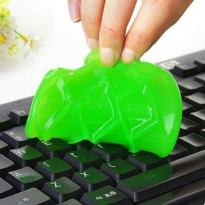Soft Sticky Glue Gum Silica Gel Cleaning Dust Dirt Cleaner For Car PC Keyboard
