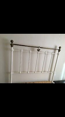 3/4 Victorian Cast and iron Bed