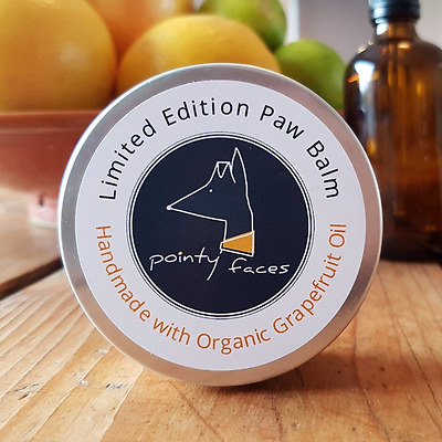 Organic Grapefruit Dog Paw Balm, Moisturising and Soothing Dog Paw Balm 60ml