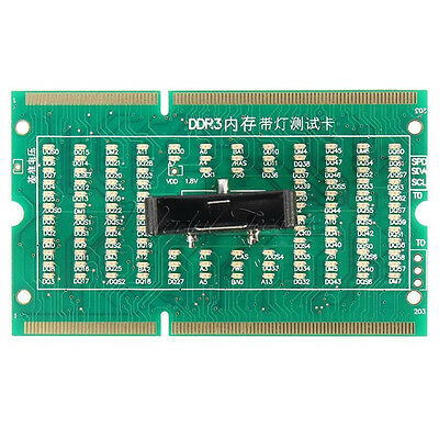 DDR3 Memory Slot Tester Card with LED For Laptop Motherboard Notebook Laptop