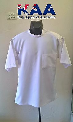 Butchers/Meat workers Coat Dentist Style, Multiple Colors and Sizes