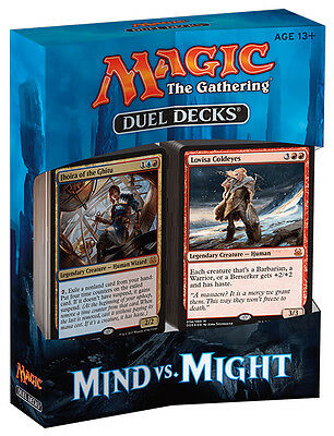 MAGIC THE GATHERING Duel Decks 2017 - Mind vs. Might