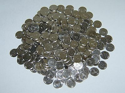250 =New=  Stainless Steel Japanese Slot Machine Super Tokens - Pachislo