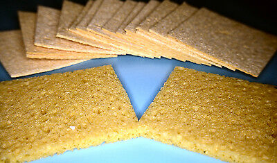 SOLDERING IRON STAND TIP CLEANING SPONGE 60x60mm APPROX PACK OF 10