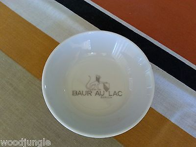 Vintage HOTEL BAUR AU LAC ZURICH SWITZERLAND DISH BOWL ASHTRAY