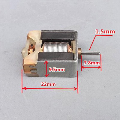 DC1.2V 35000RPM Mini 020 Motor Square Thin HM High Speed For Hobby Toy Model DIY