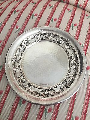 Whiting Mixed Metals Wine Coaster Sterling