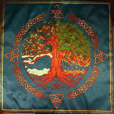 Tablecloth Wiccan Pagan tradition Seasons small