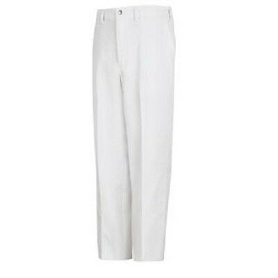 Pinnacle Chef Trends P100 White Cook Chef Pants, Size 32 (Unhemmed) New