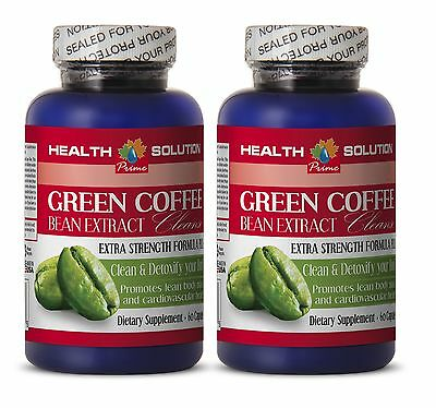 Green coffee vegan - PURE GREEN COFFEE CLEANSE - weight loss drinks - 2 Bottles