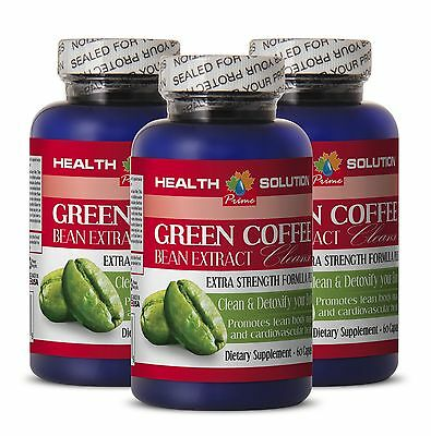 Green coffee lost weigh - PURE GREEN COFFEE CLEANSE - weight loss help - 3Bottle