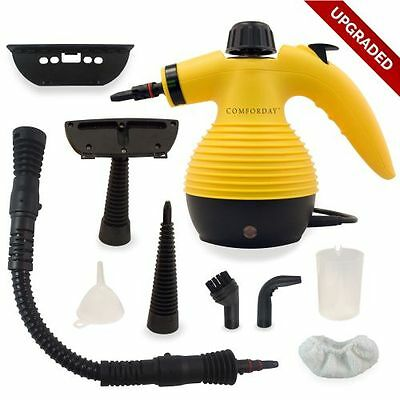 UPGRADED ✪ Comforday ✪ Handheld Multi-Purpose Pressurized Steam Cleaner 9 Acc
