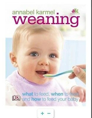 Annabel Karmel Baby's Weaning Recipie Book Gift For The First Year 0-12 Month