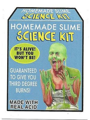 2017 Topps Wacky Packages  Gpk Network Spews No.26 Homemade Slime 192 Printed