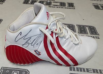 reputable site a0278 f7ff3 Chauncey Billups Signed Game Worn Used Adidas Shoe BAS Beckett COA sz 13  Pistons