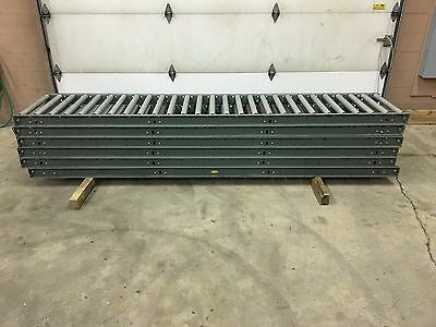 "10' L x 24"" W Heavy Duty Roller Conveyors (Used)"