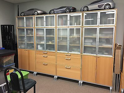 IKEA Galant Effectiv Cabinets. Each $325 Excelent Condition