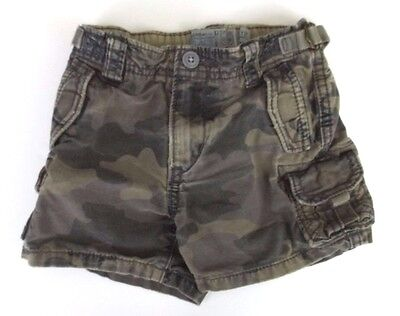 The Children's Place Shorts 12 Months Unisex Baby Boy Girl Green Camouflage